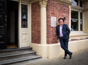 Josh Byrne outside his office at Fremantle Chamber of Commerce